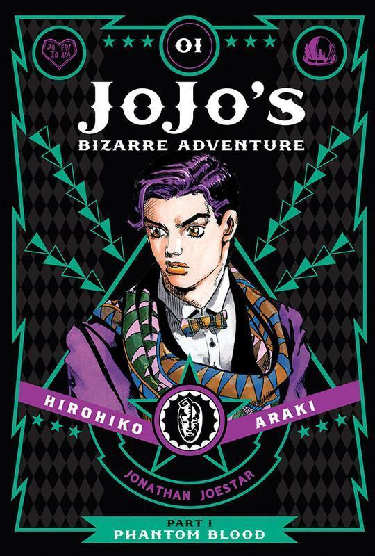 JoJo's Bizarre Adventure Part 1 Phantom Blood Manga Volume 1 (Hardcover)