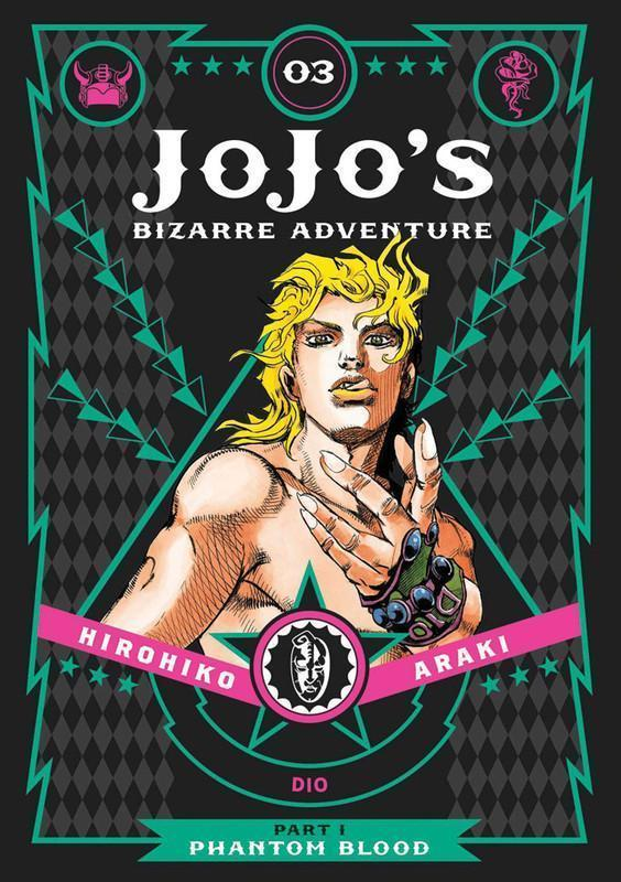 JoJo's Bizarre Adventure Part 1 Phantom Blood Manga Volume 3 (Hardcover)