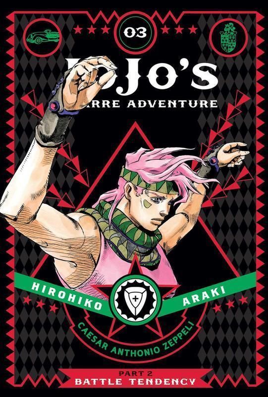 JoJo's Bizarre Adventure Part 2 Battle Tendency Manga Volume 3 (Hardcover)