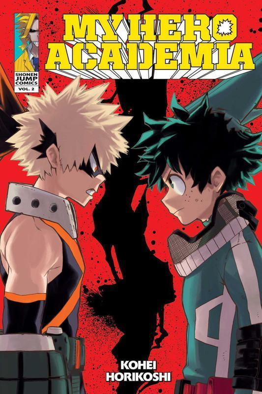 My Hero Academia Manga Volume 2
