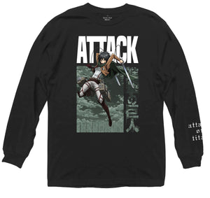Attack on Titan - Mikasa Battle Long Sleeve