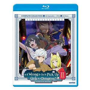 Is It Wrong to Try to Pick Up Girls in a Dungeon? 2 Complete Collection Blu-Ray