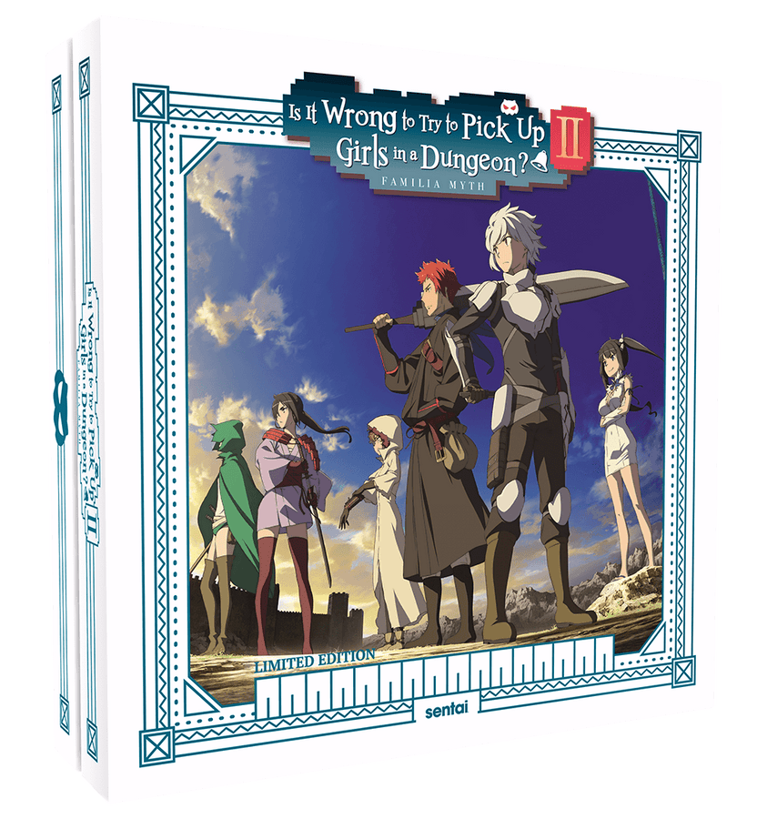 Is It Wrong to Try to Pick Up Girls in a Dungeon? 2 Premium Box Set Blu-Ray