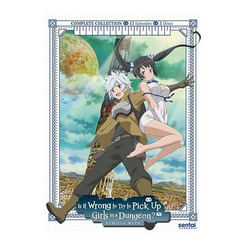 Is It Wrong to Pick Up Girls in a Dungeon? Complete Collection DVD