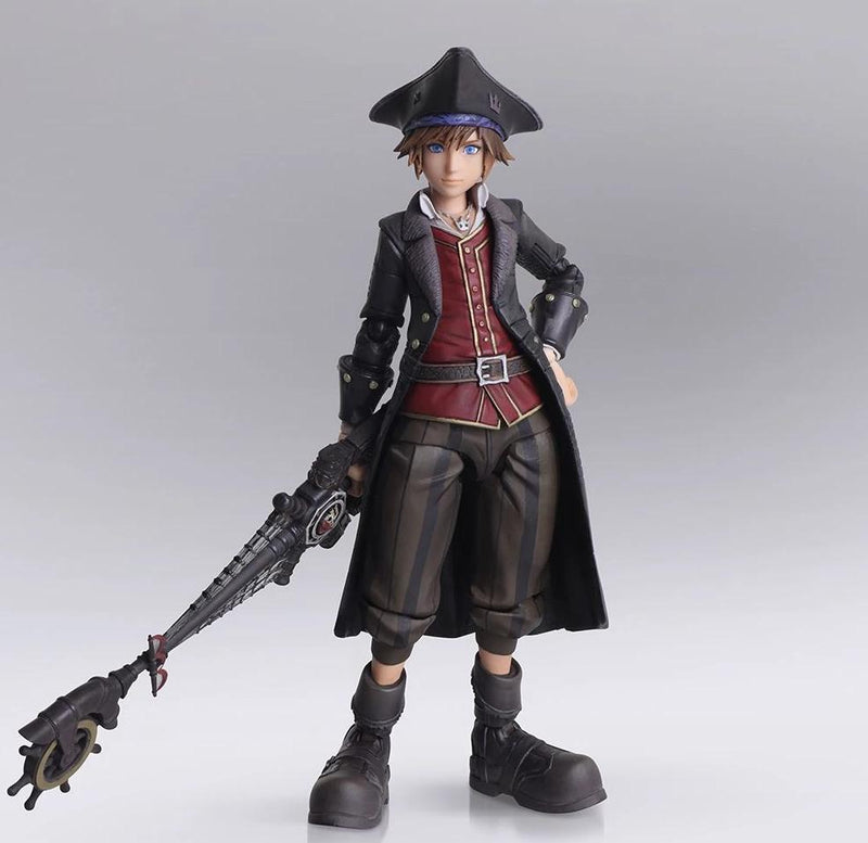 Kingdom Hearts III - Sora (Bring Arts Figure (Pirates of the Caribbean Ver.)