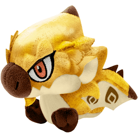 Monster Hunter - Gold Rathian Chibi Plush