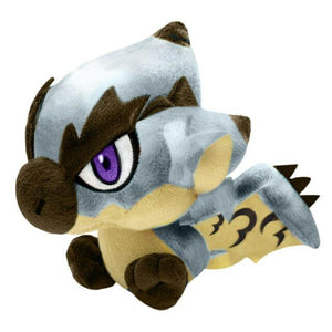 Monster Hunter - Silver Rathalos Chibi Plush