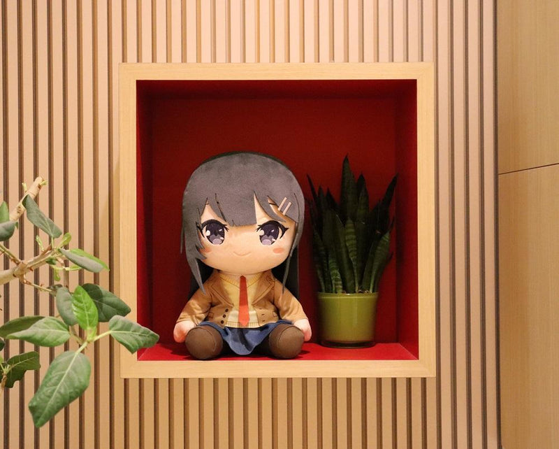 Rascal Does Not Dream of Bunny Girl Senpai - Sakurajima Mai Big Plush
