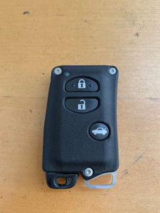 YMD2 - 3 Button withOUT PANIC - Titanium Banded Toyota Keyless Start Remote Kit