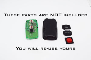 YMD5 - 2 Button on Front Remote Shell Kit