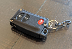 YMD2 - 3 Button with PANIC - Titanium Banded Toyota Keyless Start Remote Kit
