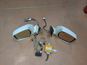 USED - Power Folding Retracting Mirrors for LX470 / 100 Series Land Cruiser