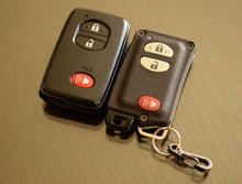 Load image into Gallery viewer, YMD2 - 3 Button with PANIC - Titanium Banded Toyota Keyless Start Remote Kit