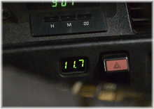 Load image into Gallery viewer, MK3 Supra Stealth Volt Meter