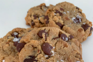 London Fog Chocolate Chip Cookies