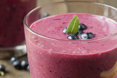 Blueberry Energy Shake