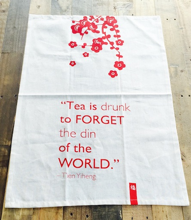 tea towel tea is drunk