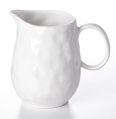 pitcher dimple white