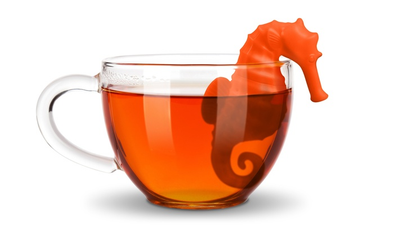 infuser under the tea - seahorse