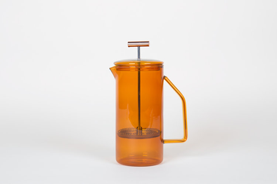 tea press glass amber 850ml