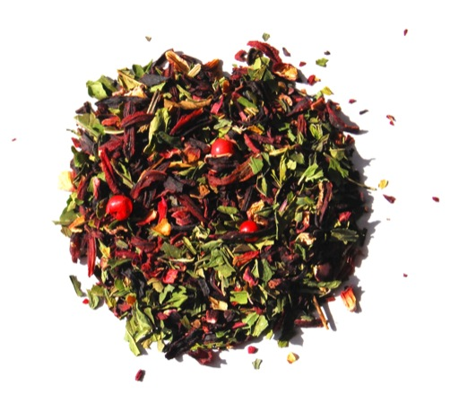 candy cane herbal tea