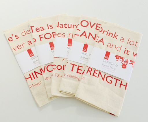 tea towel drink a lot of tea