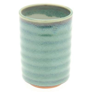 cup blue variegated jade