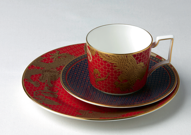 cup/saucer imperial phoenix