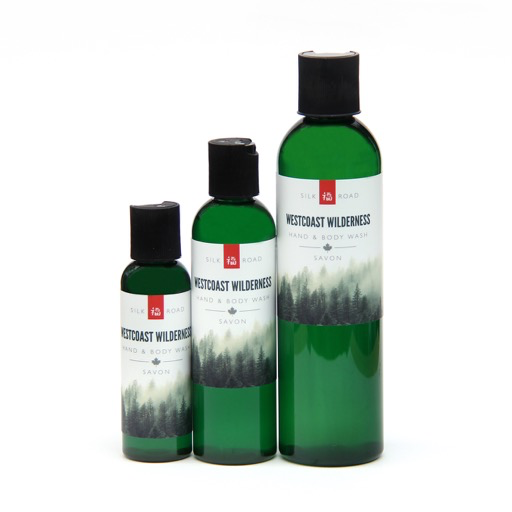 westcoast wilderness hand & body wash