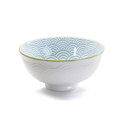 bowl wave blue