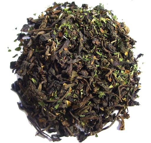 green dragon pu-erh tea