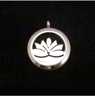 locket aromatherapy lotus