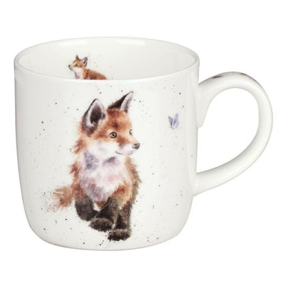 mug born to be wild foxes