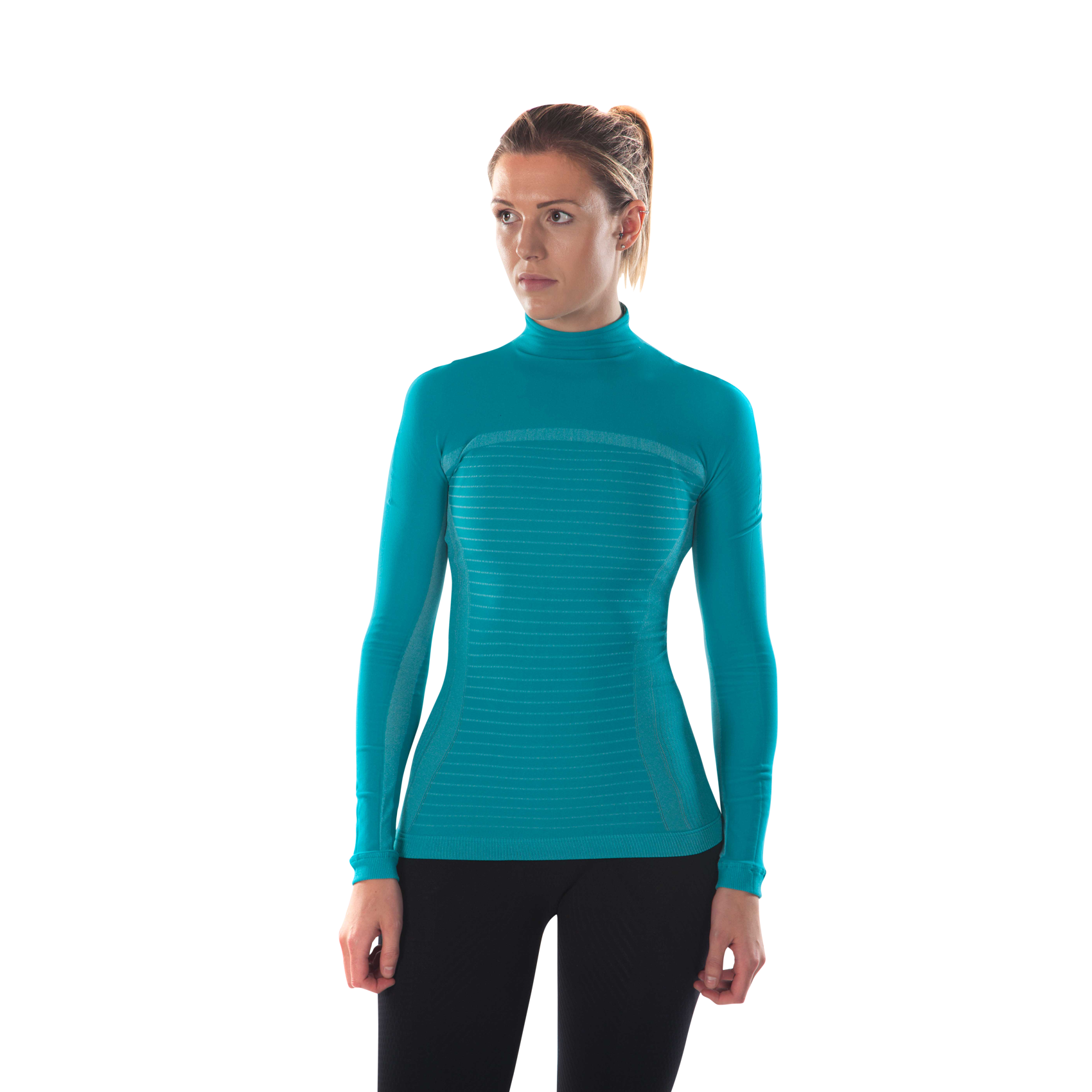megmeister-womens-drynamo-high-neck-base-layer-aqua