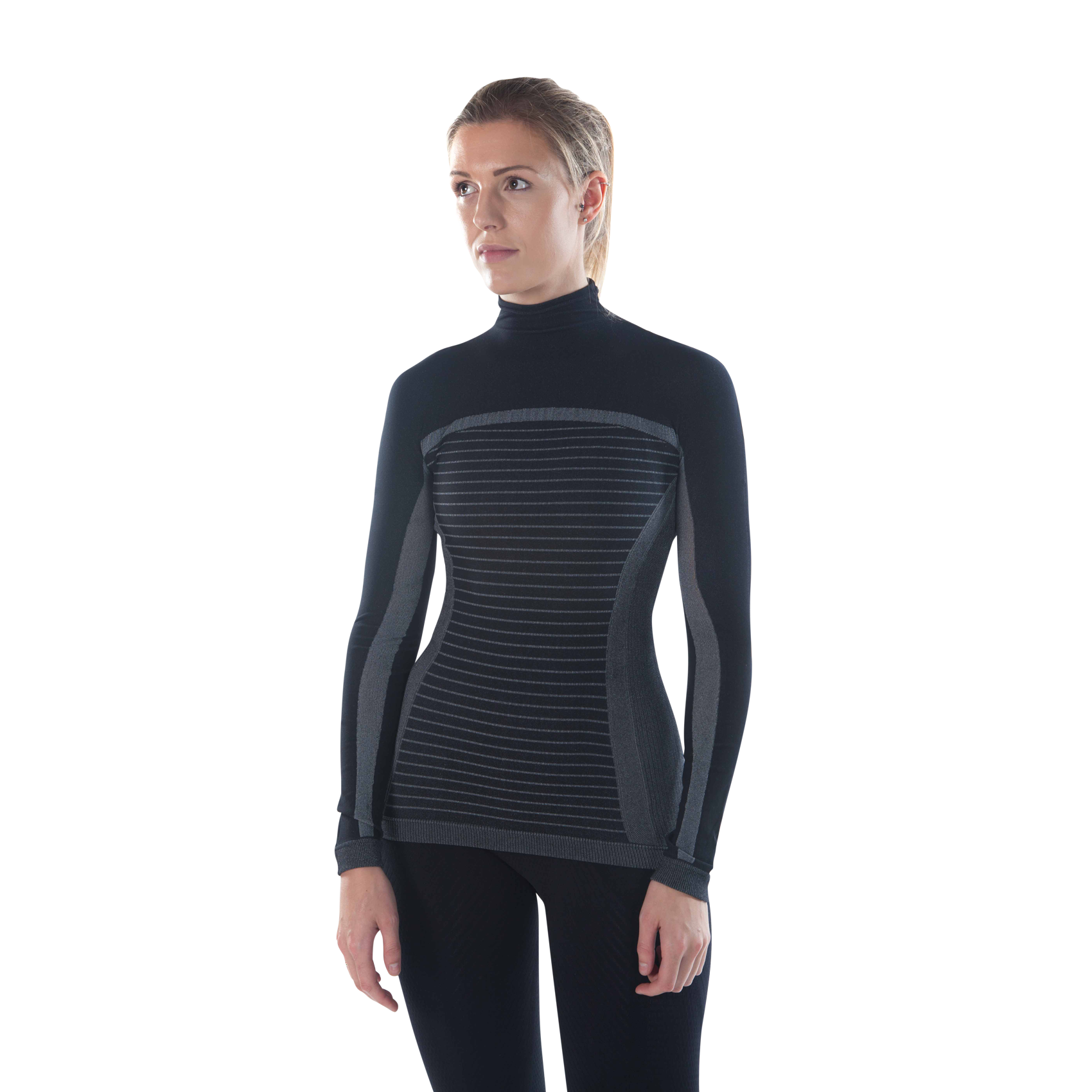 megmeister-womens-drynamo-high-neck-base-layer-black