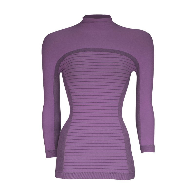 megmeister-womens-drynamo-high-neck-base-layer-lilac-front