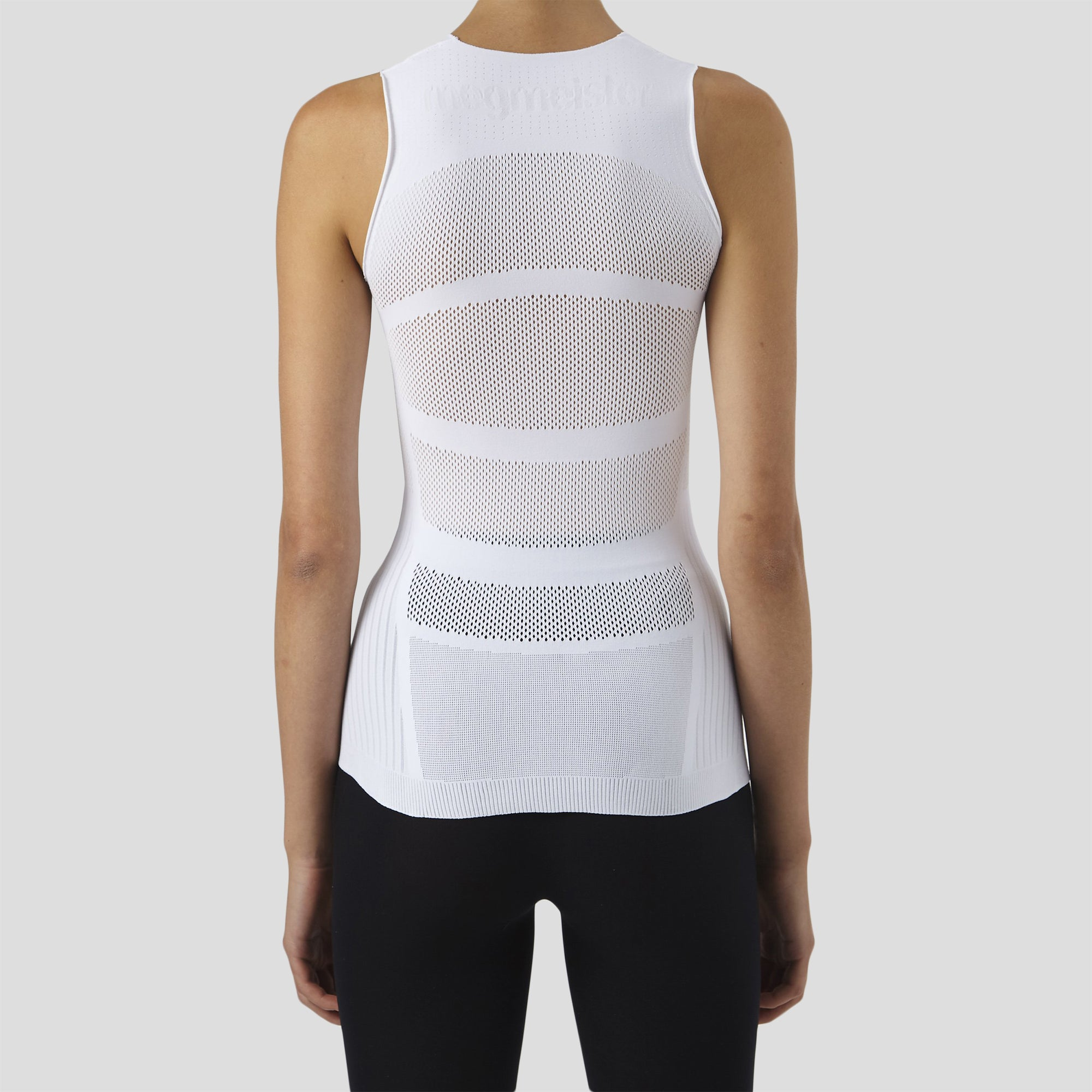 megmeister-womens-drynamo-cycle-sleeveless-base-layer-in-white-close-up