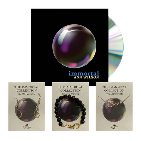 The Immortal Collection - Jewelry & CD bundle (Gold)