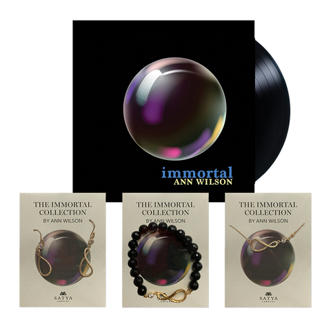 The Immortal Collection - Jewelry & LP bundle (Gold)