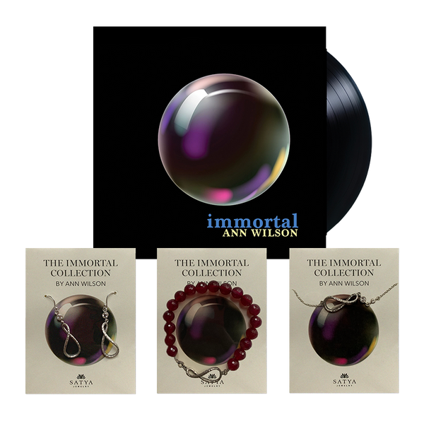 The Immortal Collection - Jewelry & LP bundle (Silver)