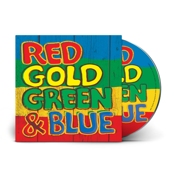 TROJAN JAMAICA - RED, GOLD, GREEN AND BLUE (CD)