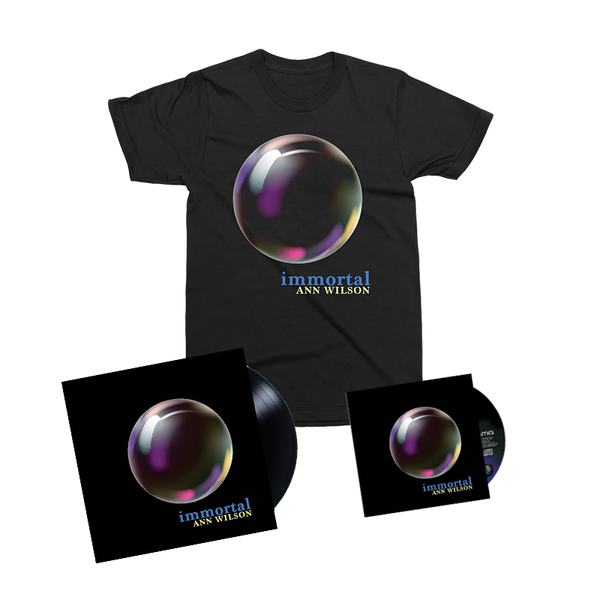 ANN WILSON - IMMORTAL DELUXE T-SHIRT BUNDLE