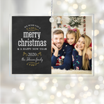 Acrylic Glass Photo Ornaments Merry Christmas
