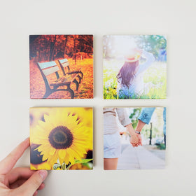 4x4 EcoWoodPics™ Wood Photo Tiles Thick Full Print