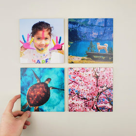6x6 EcoWoodPics™ Wood Photo Tiles Slim Full Print