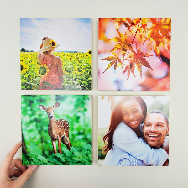 Photo Tiles, Acrylic Prints, Photo Wall Tiles, Wall Art, Wall Decor, Home Decor, Photo Prints, 8x8 EcoWoodPics™ Thick Full Print - PicFoams.com