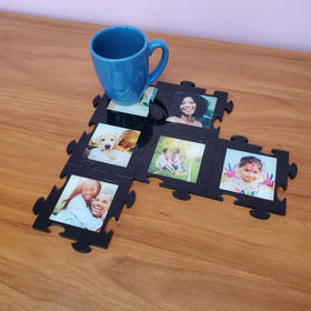 AcryliPics™ Acrylic Infinite Photo Puzzle Coasters