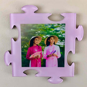AcryliPics™ Wall Puzzle Photo Tiles -Pink