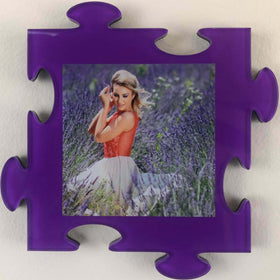 AcryliPics™ Wall Puzzle Photo Tiles - Purple