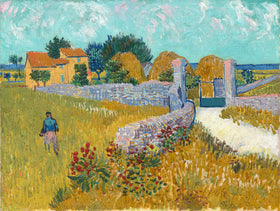Vincent van Gogh, Farmhouse in Provence, 1888